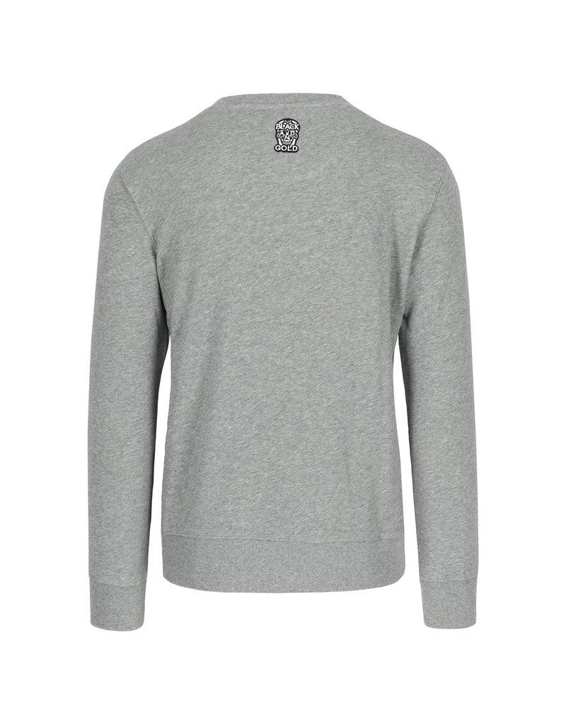 Black & Gold Rotondinos Sweater Grey