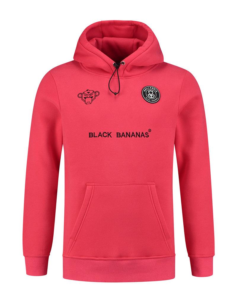 Black Bananas BLCK BNNS F.C. Basic Hoodie Neon Red