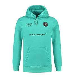 Black Bananas BLCK BNNS F.C. Basic Hoodie Neon Aqua