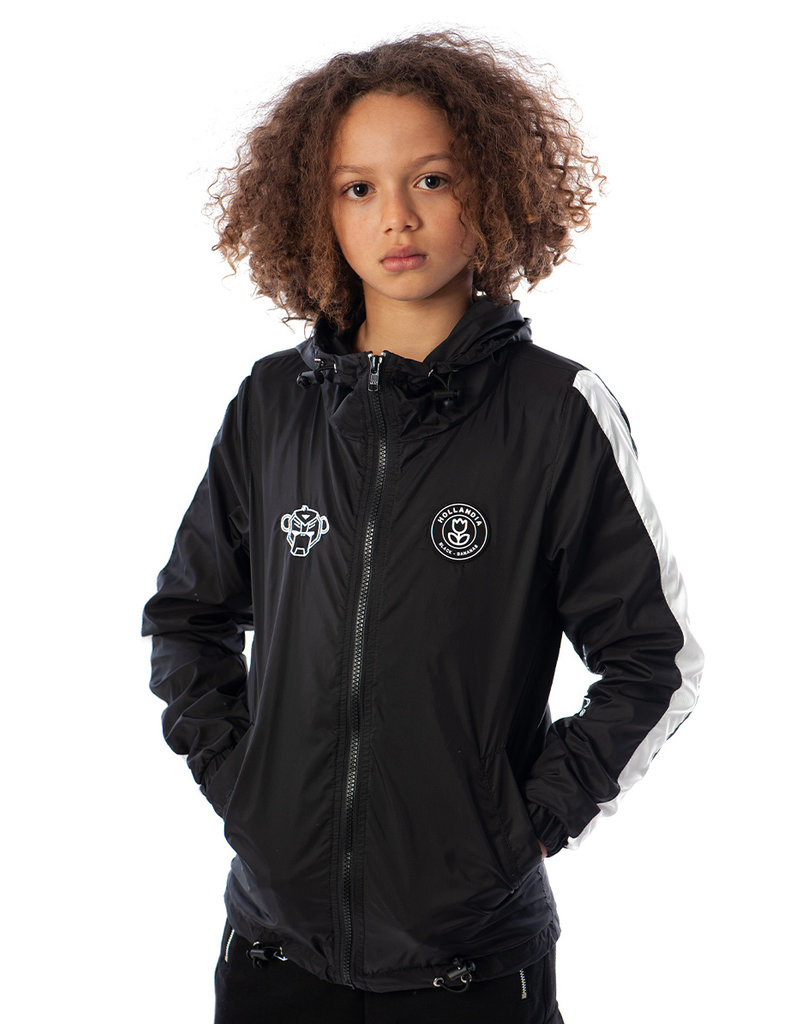 Black Bananas BLCK BNNS Kids Striped Jacket Black