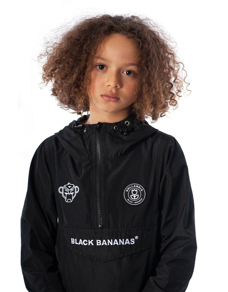 Black Bananas BLCK BNNS Kids Anorak Windbreaker Black