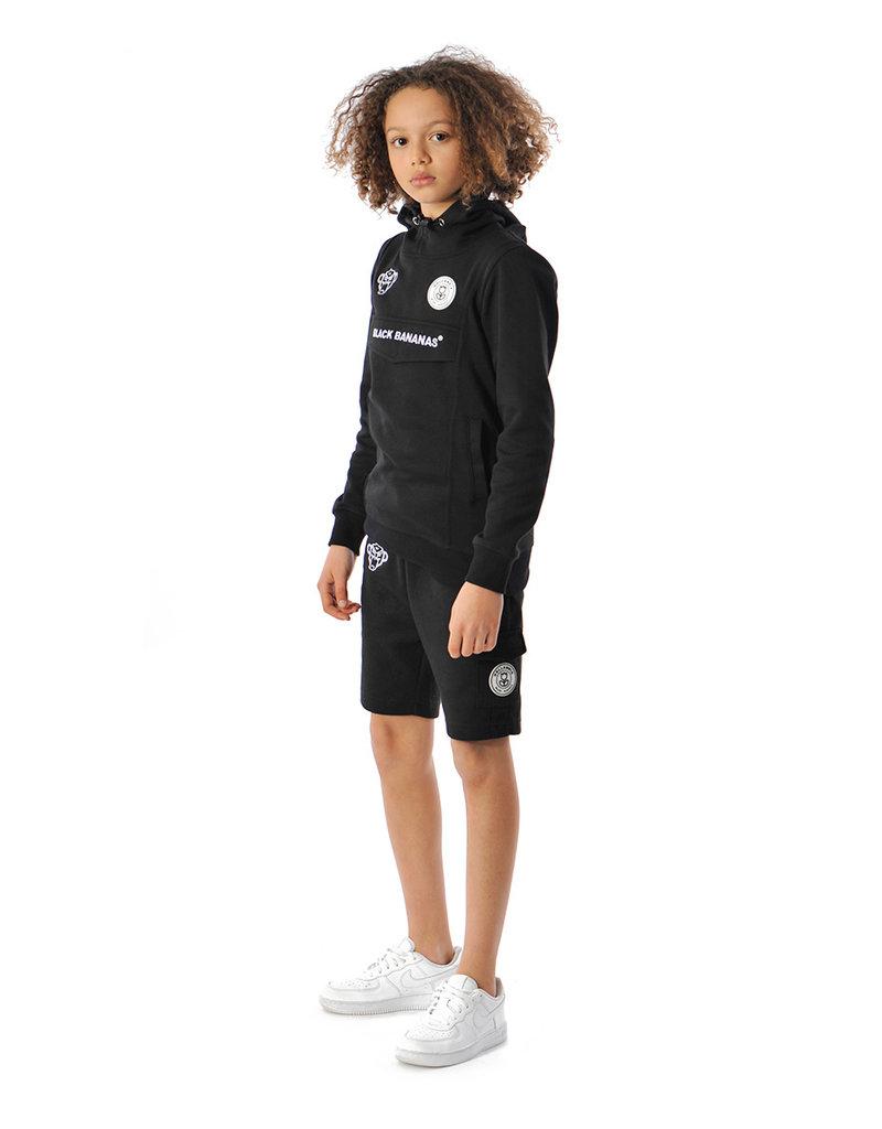 Black Bananas BLCK BNNS Kids Basic Anorak Shorts Black