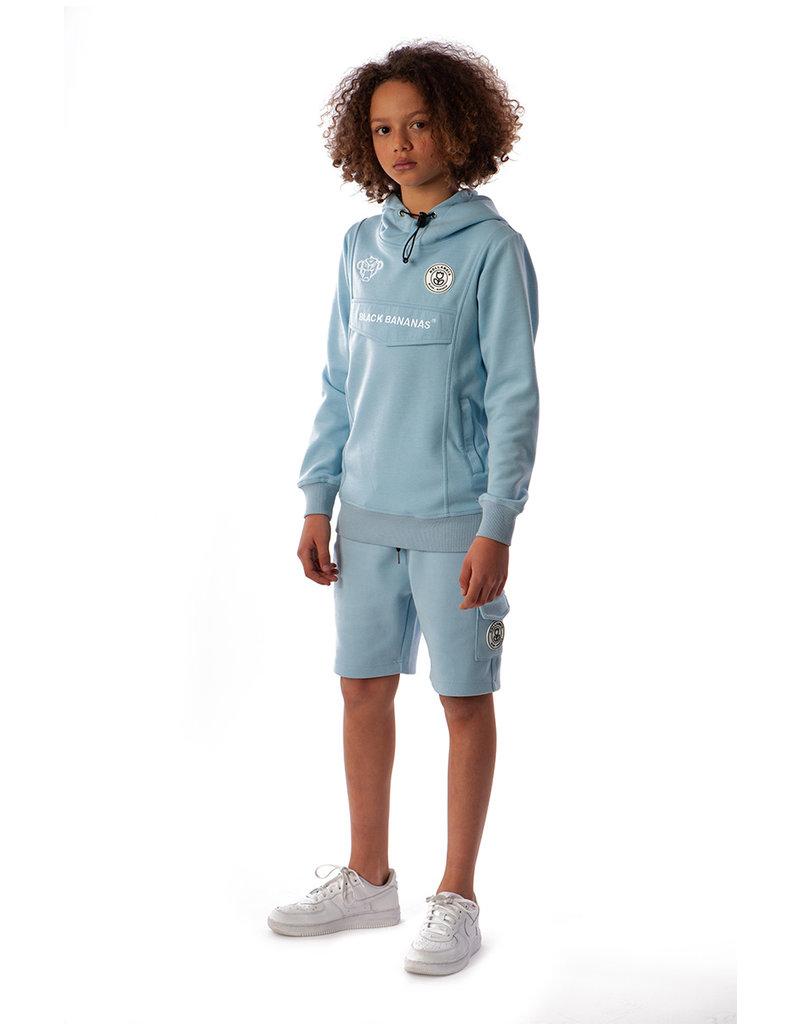 Black Bananas BLCK BNNS Kids Basic Anorak Shorts Baby Blue