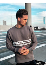 24Uomo Brand Sweater Stone