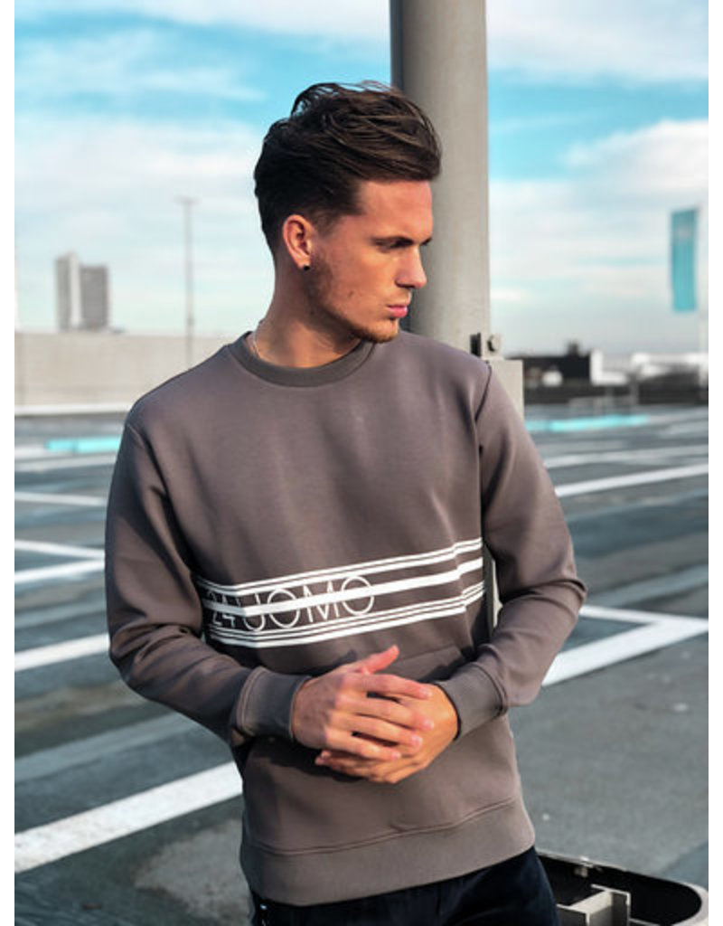 24uomo 24Uomo Brand Sweater Stone