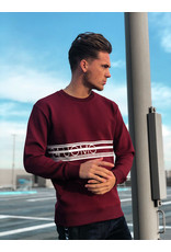 24Uomo Brand Sweater Burgundy