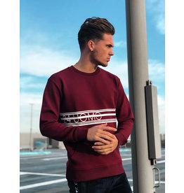 24Uomo Brand Sweater Burgundy