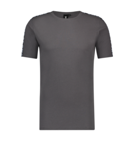 24Uomo Taped Tee Stone