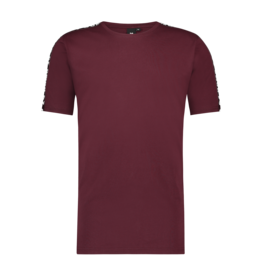 24uomo 24Uomo Taped Tee Burgundy