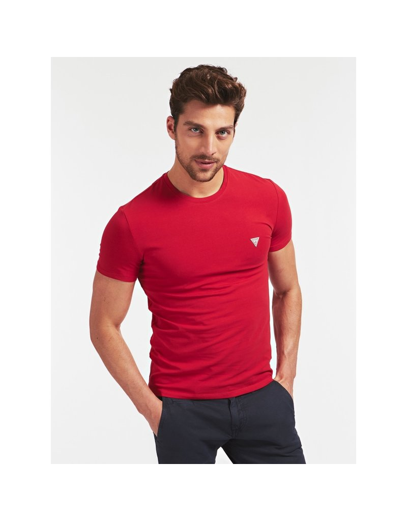GUESS GUESS Small Patch Shirt Red