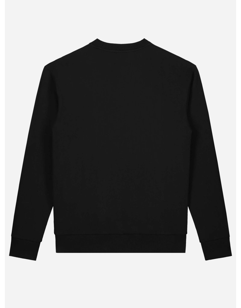 SUSTAIN SUSTAIN Patches Oversized Sweater Black