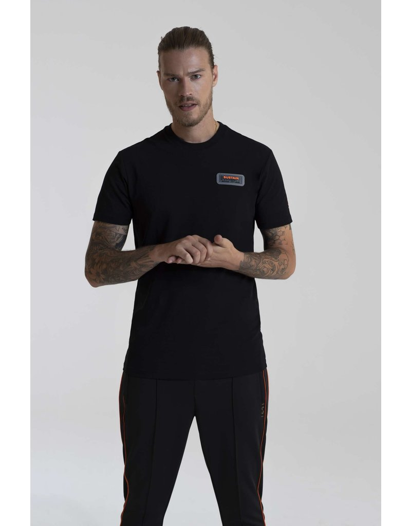 SUSTAIN SUSTAIN Patch Regular Tee Black