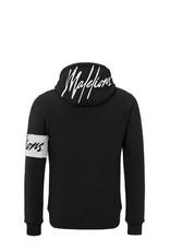 Malelions Malelions Captain Hoodie 2.0 Black/White