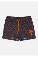 Off The Pitch OTP Allover You Swimshort Black