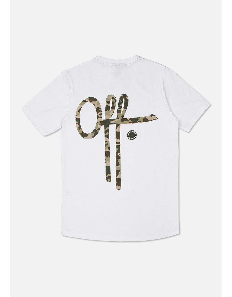 Off The Pitch OTP Full Stop Camo Tee White