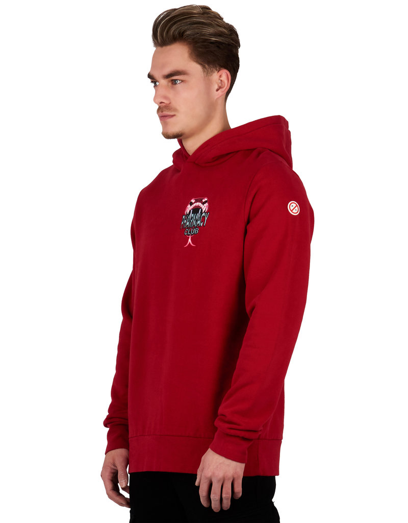Pharmacy Club PC Reflective Hoodie Red