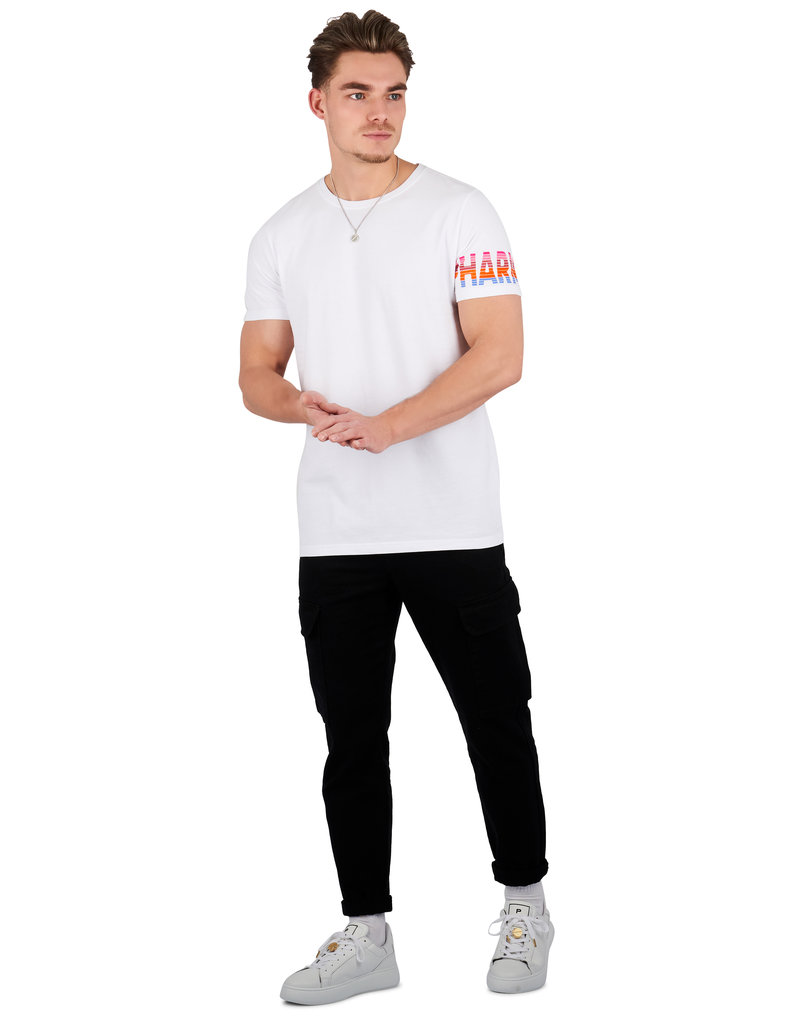 Pharmacy Club PC Flock Tee White