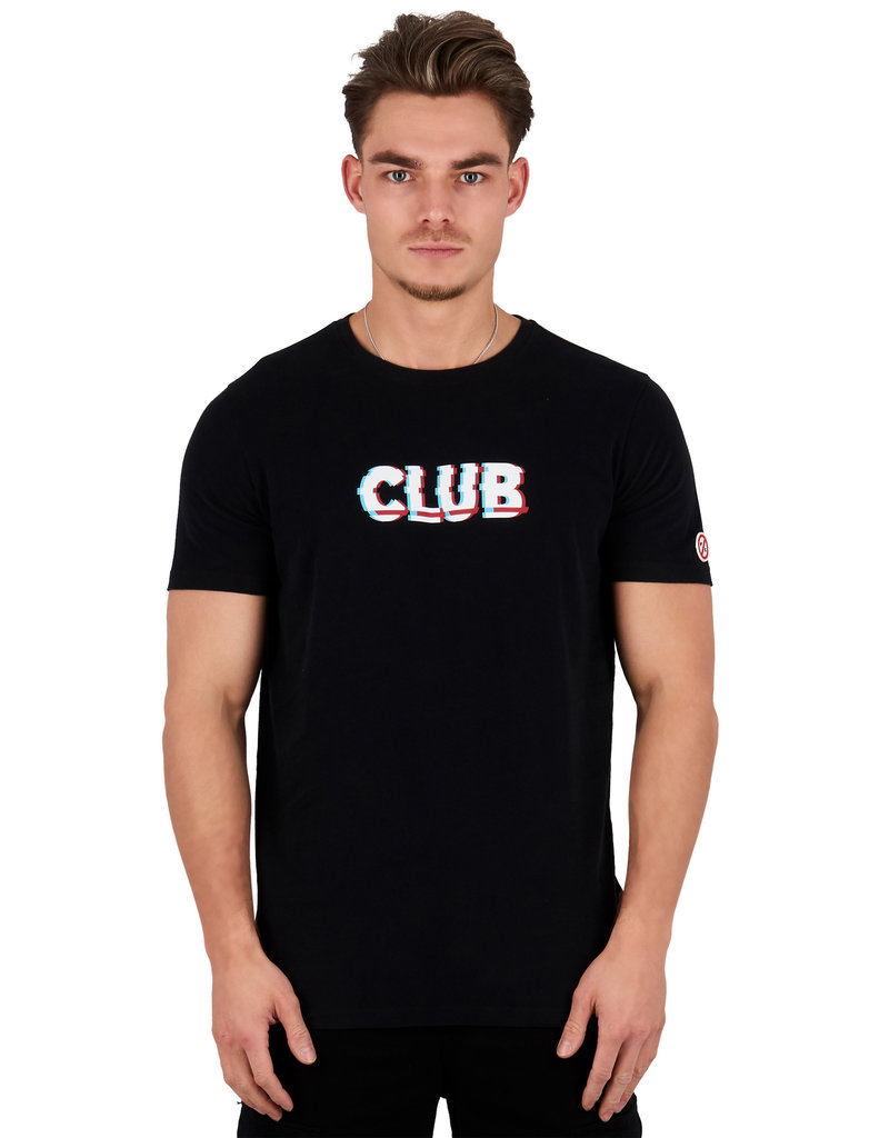 Pharmacy Club PC Club Glitch Tee Black