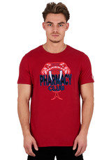 Pharmacy Club PC Big Snake Tee Red