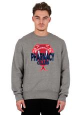 Pharmacy Club PC Big Snake Sweater Grey