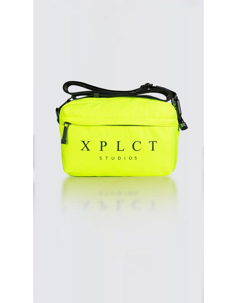 XPLCT Studios XPLCT STUDIOS Messenger Bag Neon Yellow