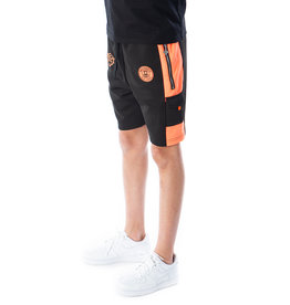 Black Bananas BLCK BNNS Kids Goal Short Black/Orange