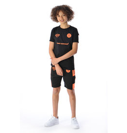 Black Bananas BLCK BNNS Kids Goal Tee Black/Orange