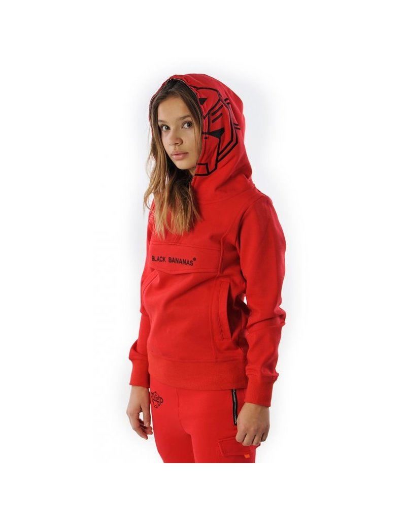 Black Bananas BLCK BNNS Kids Incognito Hoodie Red