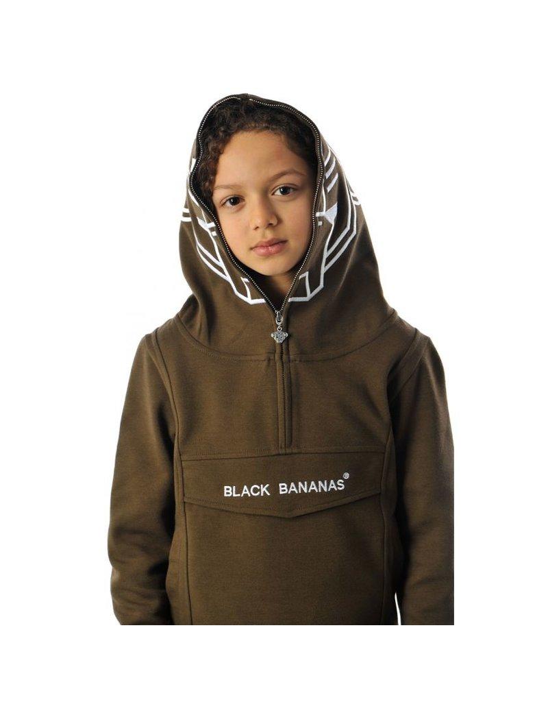Black Bananas BLCK BNNS Jr Incognito Hoodie Army