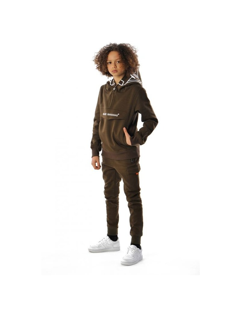 Black Bananas BLCK BNNS Kids Incognito Hoodie Army