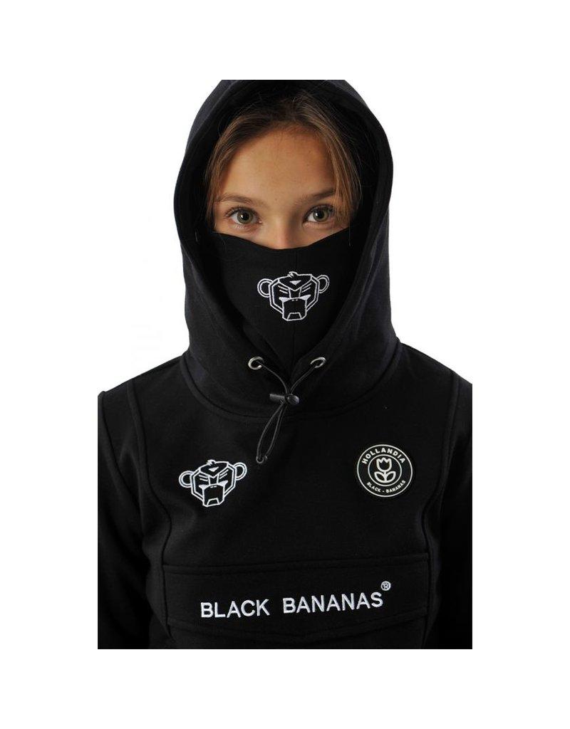 Black Bananas BLCK BNNS Kids Mask Hoodie Black