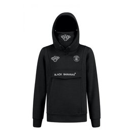 Black Bananas BLCK BNNS Kids Mask Hoodie Black