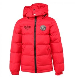 Black Bananas BLCK BNNS Kids Bubble Coat Red