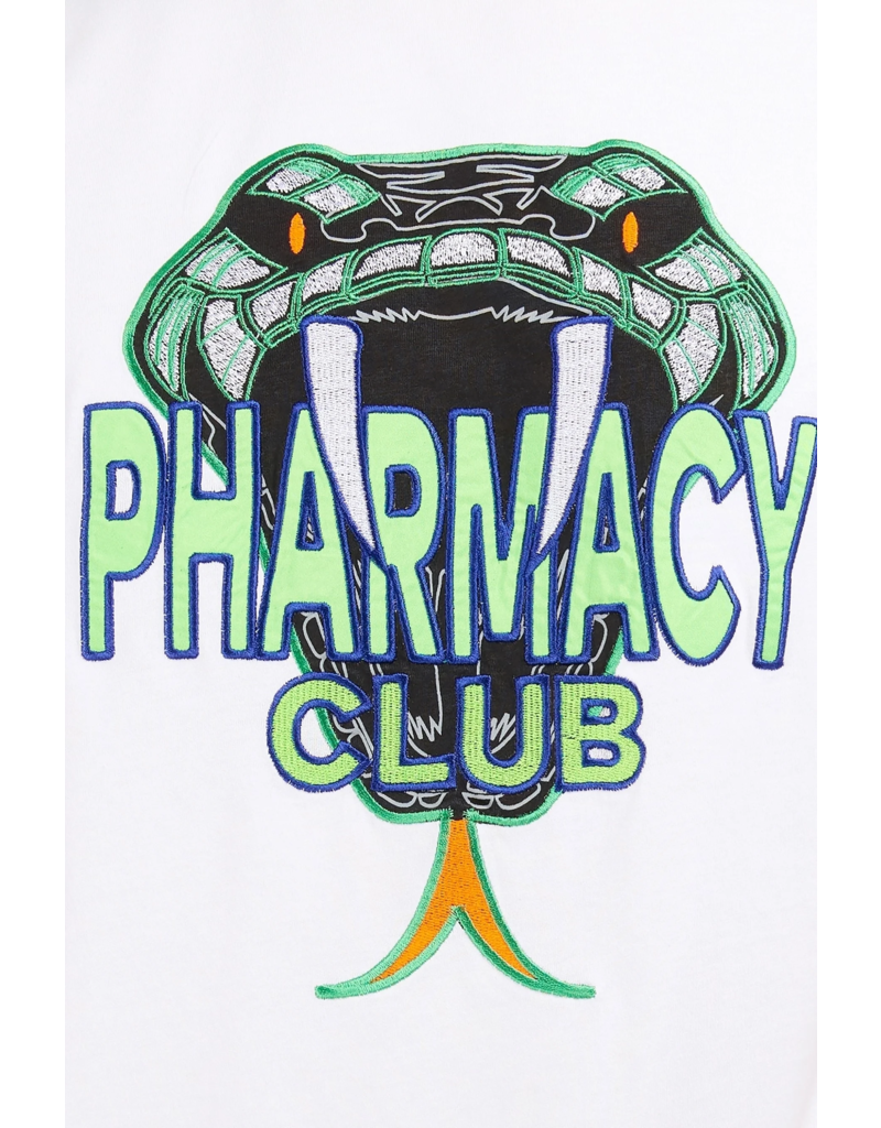 Pharmacy Club PC Big Snake White Green