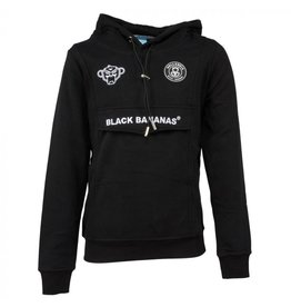 Black Bananas BLCK BNNS Jr Basic Anorak Hoodie Black