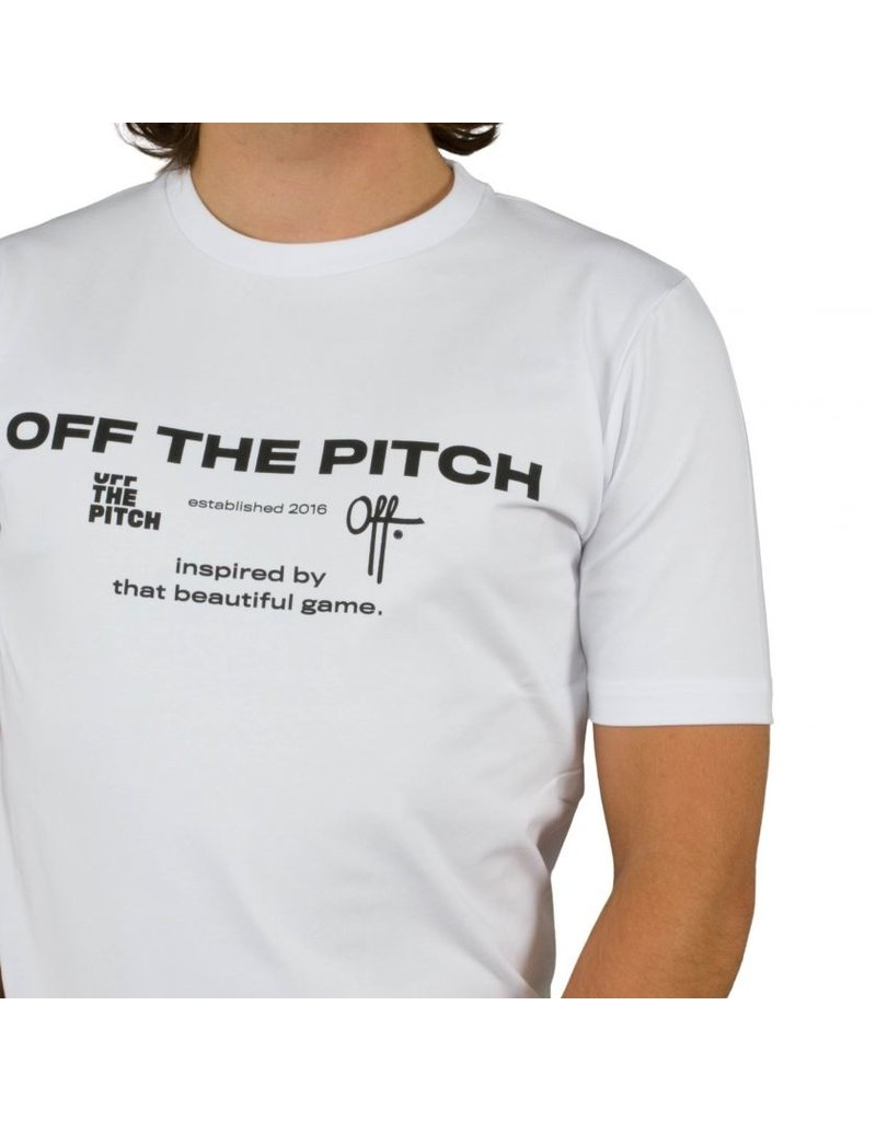 Off The Pitch OTP The Sage Tee White