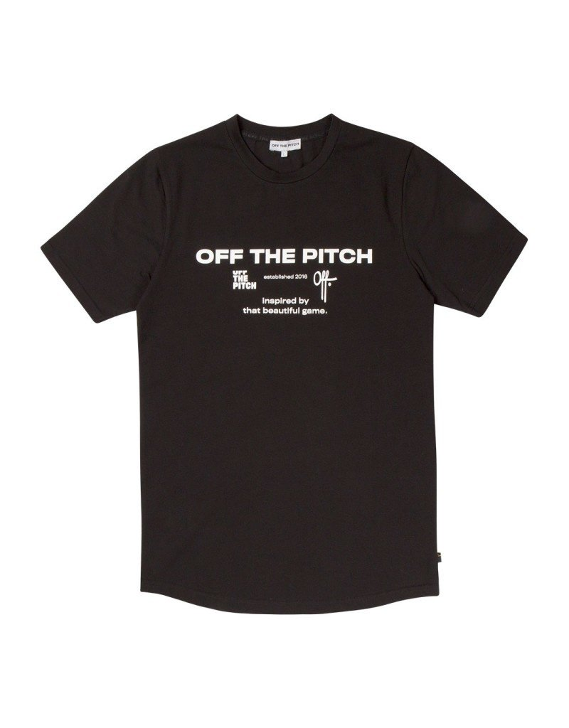 Off The Pitch OTP The Sage Tee Black