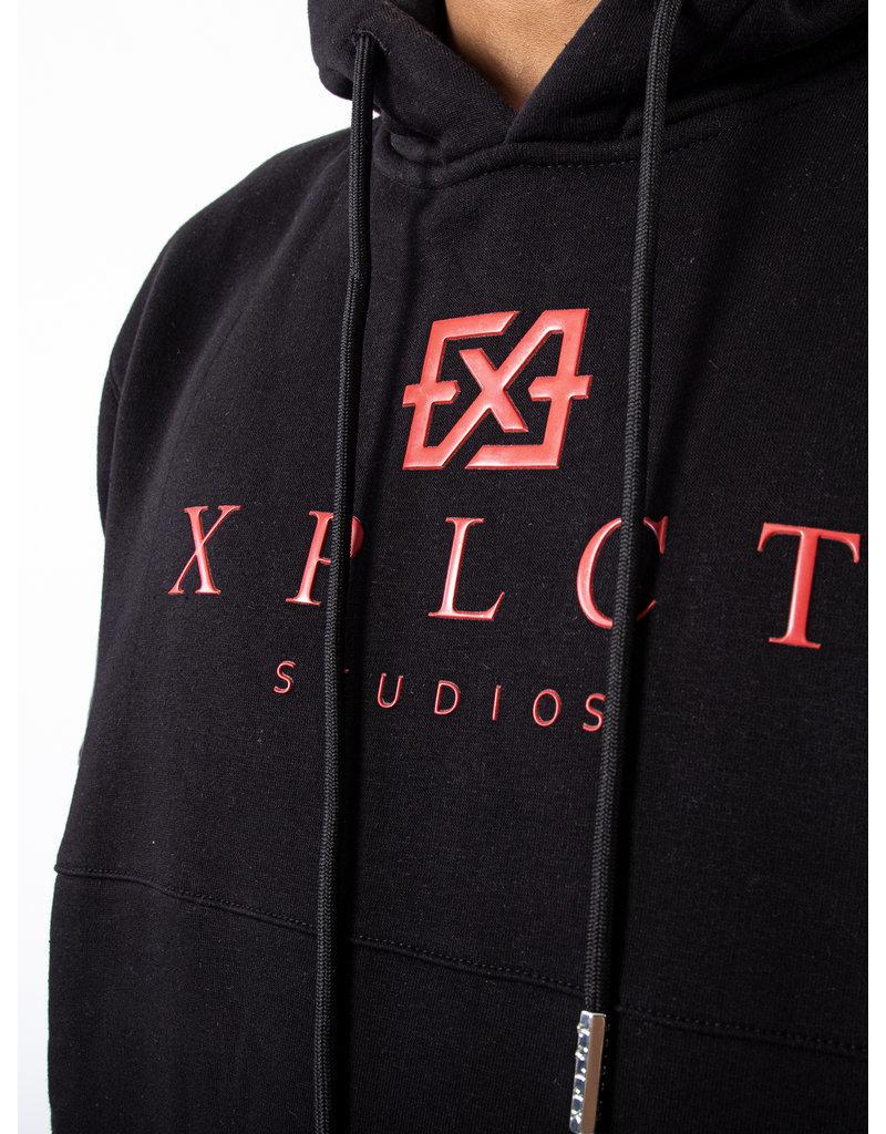 XPLCT Studios XPLCT Brand Hoodie Black