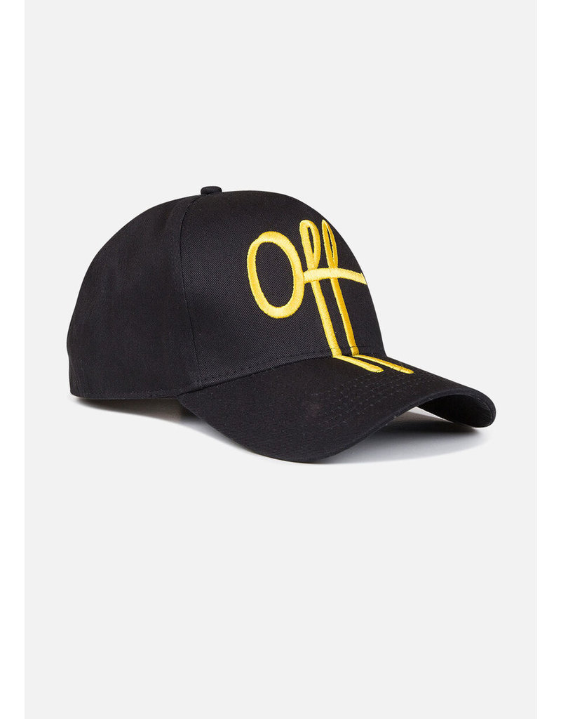 Off The Pitch OTP The Sage Trucker Cap Black/Yellow