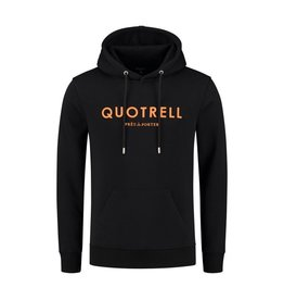 Quotrell QUOTRELL Basic Hoodie Black/Orange