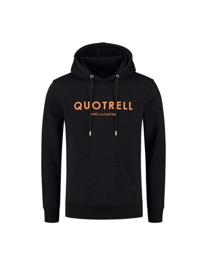 Quotrell QUOTRELL Basic Hoodie Black/Orange