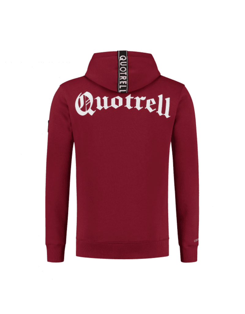 Quotrell QUOTRELL Commodore Hoodie Bordeaux