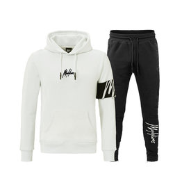 Malelions Malelions Captain Tracksuit White - Offwhite