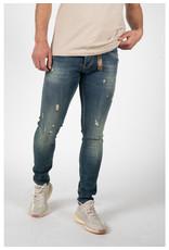 Leyon Leyon Destroyed Orange Jeans