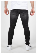 Leyon Leyon Ribbed Black Spotted Jeans