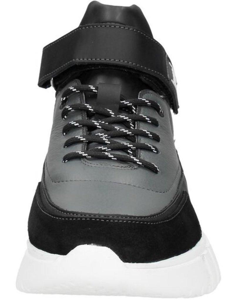Off The Pitch OTP Sneak Hi-Top Grey/Black