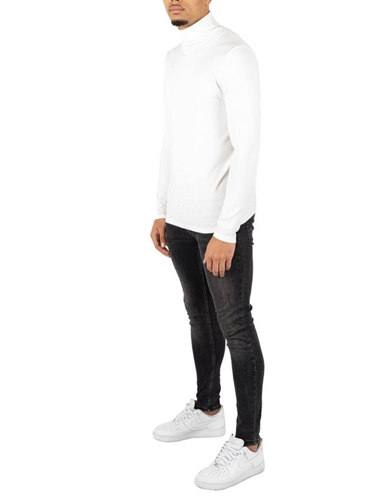 Quotrell QUOTRELL Oslo Turtleknit Off White