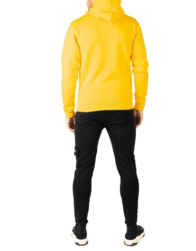 Quotrell QUOTRELL Basic Hoodie Yellow
