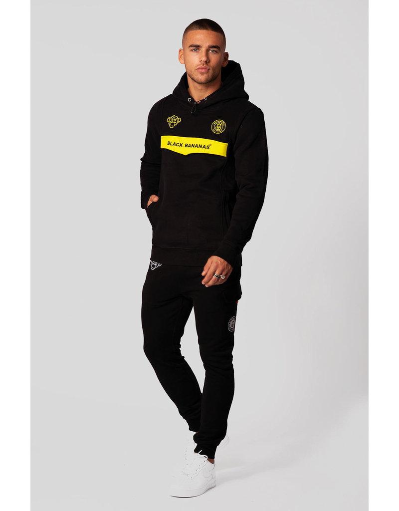 Black Bananas BLCK BNNS Anorak Neon Hoodie Black/Yellow