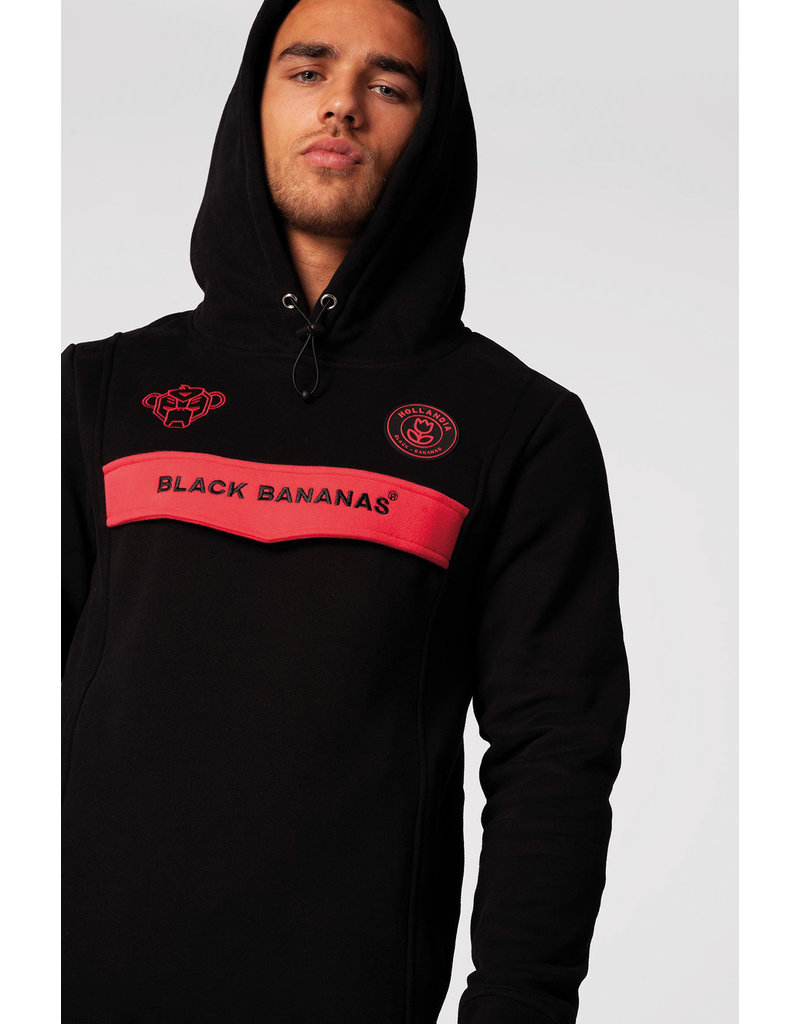 Black Bananas BLCK BNNS Anorak Neon Hoodie Black/Pink